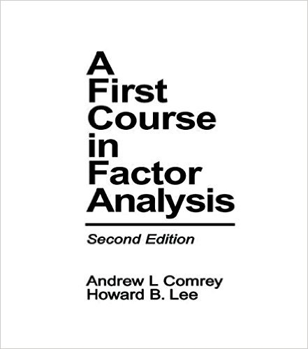 First Course in Factor Analysis