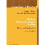 Modern Multidimensional Scaling: Theory and Applications