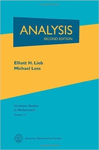 Analysis. (Graduate studies in mathematics, vol.14)